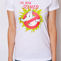 Vintage Ghostbusters I've Been Slimed Tee / 80s Tee