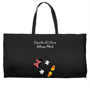 Creating A Little Disney Magic Minnie Mouse Weekender Totes