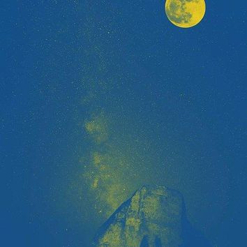 To The Moon And Back By Adam Asar 2 - Art Print