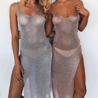 Sexy Tunic Beach Cover Up