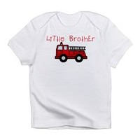 Little Brother Fire Truck Infant T-Shirt> Little Brother Fire Truck> The Kids Corner