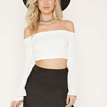 Rise Of Dawn Crop Top | Forever 21 - 2000169968