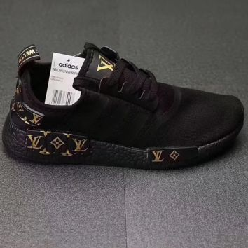 online store 1beec a3d5d Adidas x Supreme x LV NMD R1 womens limited edition USA 7.5 .