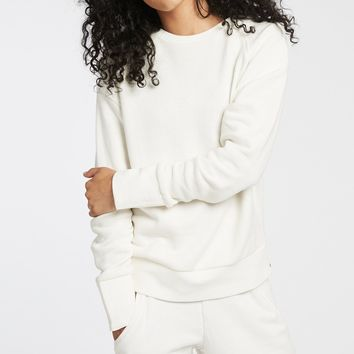 Michi Combat White Sweatshirt