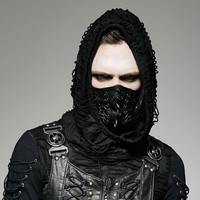 Punk Rave Gothic Men's Stylish Fashion Spiked Mask