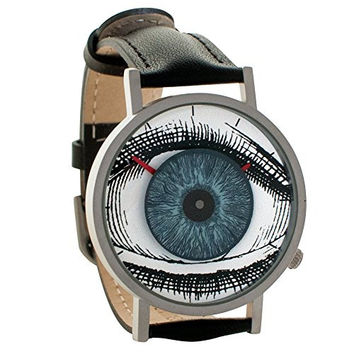 Eye Watch - The All Seeing Eye of Freemasonry and Illuminati - Unisex Analog Water Resistant