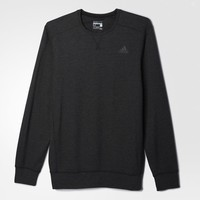 adidas Sport Essentials Premium Crew Fleece - Black | adidas US