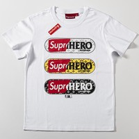 Cheap Women's and men's supreme t shirt for sale 85902898_0146