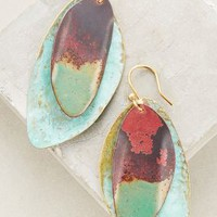 Ancestral Drops by Sibilia Turquoise One Size Earrings