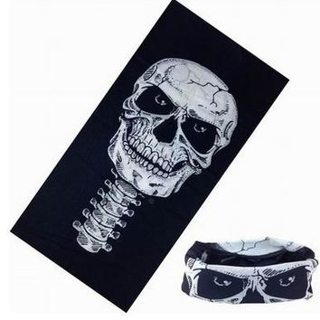 New 2017 Skull Bandana Bike Camouflage Tube Neck Face Mask Headscarf Sport Headband Pick Skull Shemagh Print Bandanas 10 colors