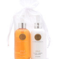 Niven Morgan GOLD Hand Lotion & Soap Set