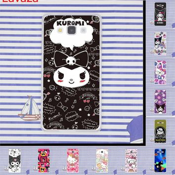 Lavaza kuromi Hello Kitty Hard Phone Shell Cover for Samsung Galaxy S6 S7 Edge S8 S9 Plus S3 S4 S5 Case
