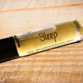 Vegan All Natural Essential Oils Roller Life Blend- Sleep