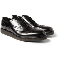 Common Projects Crepe-Sole Leather Brogues | MR PORTER
