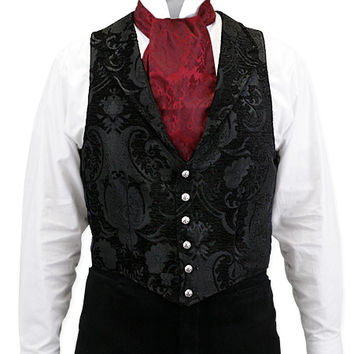 Aristocrat Vest - Black Tapestry