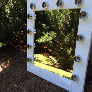 Imperfect Vanity Makeup Mirror With Lights Available Built In Digital Led Dimmer An