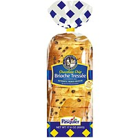 Brioche Pasquier French Sliced Chocolate Chip Brioche 17.6 oz. (500g)