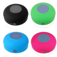 Rechargeable Waterproof Bluetooth Speaker with Suction Cup