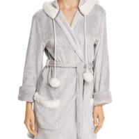 PJ Salvage Cozy Hooded Robe | Bloomingdales's