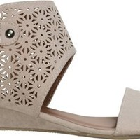 FOCUS LASER CUT SANDAL WEDGE | Swell.com