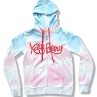 "Katy Perry Teenage ""Cloudy"" Dream Dyed Juniors Sweatshirt Hoodie (small)"