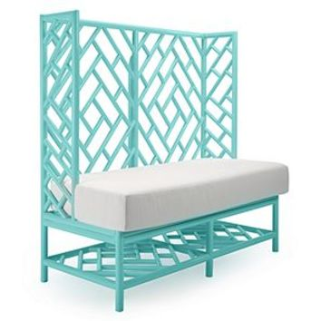 Lattice Banquette | Benches & Banquettes | Dining Room | Furniture | Z Gallerie