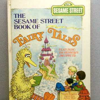 1975 Sesame Street Book of Fairy Tales Vintage by VintageWoods