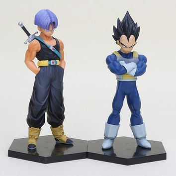 15cm Anime DragonBall Trunks Vegeta 1/8 scale PVC Action Figure Collectible Model Toys Dragon Ball Z Figure brinqudoes