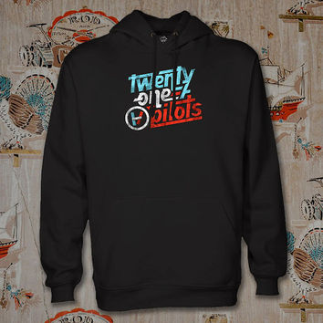 twenty one pilots logo Hoodie,Unisex Adults Size,Available Color White Black