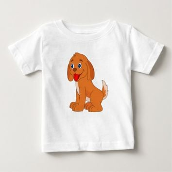Little Puppy Baby T-Shirt