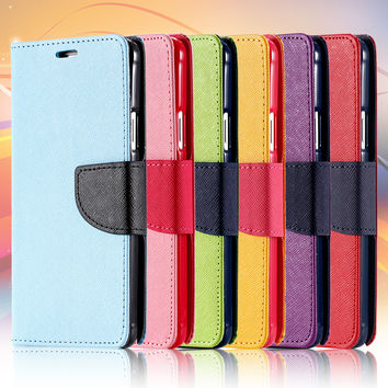 New Original Magnetic Leather Case For iPhone 5 5S Wallet Case PU Photo Frame Cover With Card Holder Stand Skin For Iphone5
