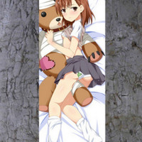 New A Certain Scientific Railgun S Misaka Mikoto Dakimakura Anime Wall Banner F104 ContestOneHundredNine8