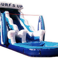 SoCal Surf's Up Inflatable Water Slide (made in the USA)