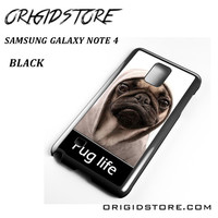 New Design Funny Hilarious Pug Life Parody Fans For Samsung Galaxy Note 4 Case Please Make Sure Your Device With Message Case UY