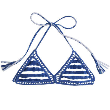 Acacia Swimwear Andy Top in Pacific Tides
