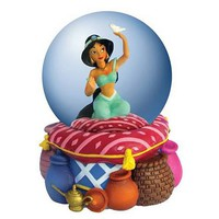 Aladdin Jasmine Water Globe - Westland Giftware - Aladdin - Snow Globes at Entertainment Earth