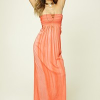Boho Me Strapless Maxi Dress