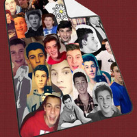 "Shawn Mendes Collage 3c47044a-1002-468b-8532-788365cd4cba Kids Blanket Game Blanket All Character Popular Game, Cute and Awesome Blanket for your bedding, Blanket fleece ""NP"""
