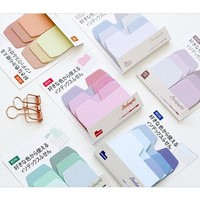 New colors index notepad paper sticky message note Memo pad