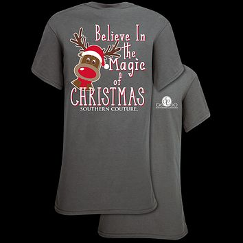Southern Couture Classic Magic of Christmas Holiday T-Shirt