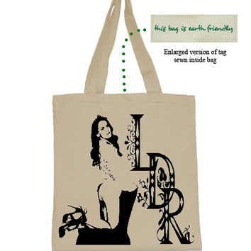 Canvas Tote Bag Lana Del Rey