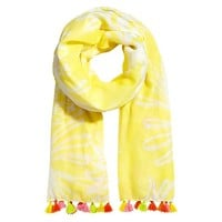 Lilly Pulitzer for Target Women's Scarf with Tassels - Pineapple Punch