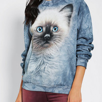 Urban Outfitters - The Mountain Wishful Kitten Pullover Sweatshirt