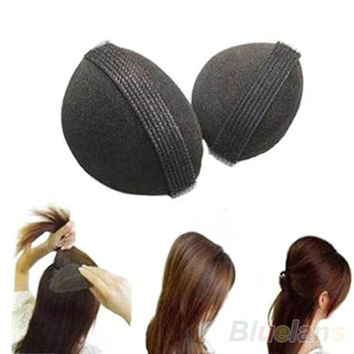 Girl Women DIY Hair Styling Magic Updo Tuck Comb Wear Hair Style Hairpin Comb = 1645786756