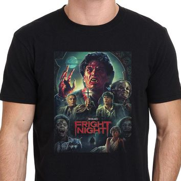Fright Night 80's Horror Movie T Shirt