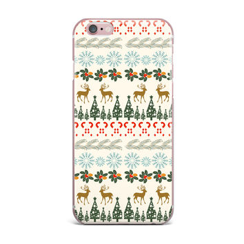 "Famenxt ""Christmas Vibes"" Holiday Pattern iPhone Case"
