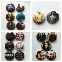 Supernatural Collection -  29 buttons available - This listing is for ONE 1 inch button
