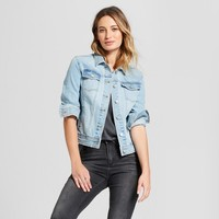 Women's Freeborn Denim Jacket - Universal Thread™ Light Wash