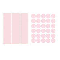 Printable Blank Address Labels and Envelope Seals for 150 Envelopes, Pink