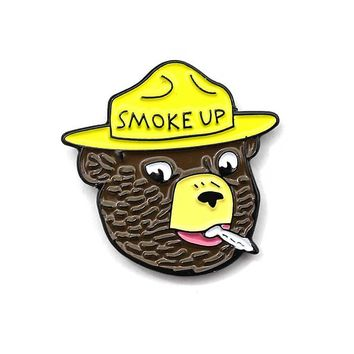 Smoke Up Pin